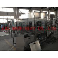 Quality 4 Working Position Rotary Filling Machine Out Brusher For 5 Gallon Water Production Line for sale