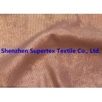 Buy cheap Golden Foil Blotch Print Corduroy Stretch Polyester Nylon 16Wales 210GSM from wholesalers