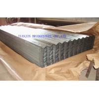 Buy Zinc Coated Galvanized Corrugated Steel Sheet For Roofing , 0.14mm – 1.2mm Thickness at wholesale prices