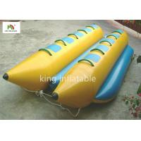 Quality Customized PVC Tarpaulin Inflatable Banana Boat / Fly Fishing Boat Inflatable 2.1m for sale