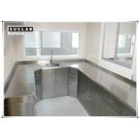 China Floor Mounted Stainless Steel Laboratory Furniture For Hospital And Food Factory on sale