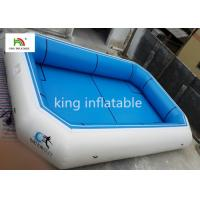 Quality Blue Plato Material Portable Inflatable Swimming Pools CE EN14960 SGS for sale