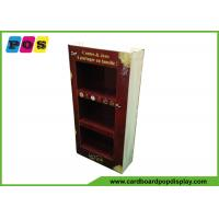 Quality Point Of Purchase Cardboard Product Display Stands With Books Printing Shape M003 for sale