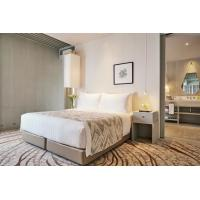 Buy Durable 3 Star Hotel Hotel Bedroom Furniture Sets / Full Size Bedroom Sets at wholesale prices