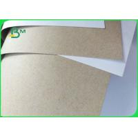 Quality FSC Certificated 250 300 350GSM White Horse Duplex Board Gray Back for sale