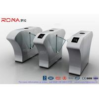 China Half Height Access Control Flap Barrier Gate Turnstile Automatically Flap Barrier With Acrylic Flap on sale