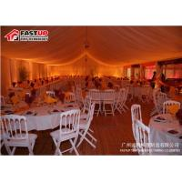 Buy Durable Massive Tent 30 X 60 Party Tent With Tempered Glass Walls Glass Door at wholesale prices