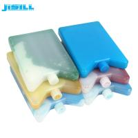 Quality Durable Plastic Ice Packs / Long Lasting Reusable Gel Ice Packs For Cooler Bags for sale