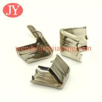 Quality Ribbon end clips silver plating ribbon end clips crimp for sale