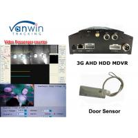 Quality 3G live video streaming CMS based linux bus mobile digital video recorder MDVR with people counter for sale