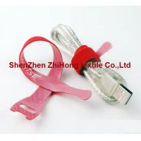 Quality Back to back double sided one strap hook and loop cable tie for sale