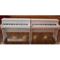 Buy 61 Key Upright Charged Toy Wooden Piano , Digital Portable Keyboard Piano at wholesale prices