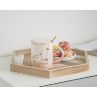 Quality 330CC Wide Mouth 15cm Personalised Ceramic Mugs for sale