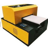 Buy cheap Screen Printing UV LED Flatbed Printer For Garment Textile And Fabric Easy from wholesalers