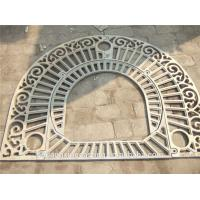 China Customized  Cast Iron Sand Casting Metal Tree Grating on sale