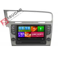 Quality Mirror Link VW Golf Dvd Player , Volkswagen Touch Screen Radio Support Steering Wheel Control for sale