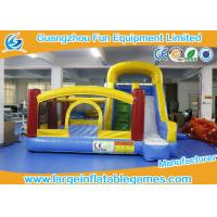 Quality Large Inflatable Jumping Castle With Prices , Inflatable Dry Slide for sale
