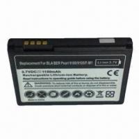 Quality Mobile Phone Battery for BlackBerry 9100/9105, Fully Decoded 1150mAh Battery Replaces F-M1 for sale