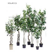 China Ideal Tropical Artificial Banyan Tree Small Leaves Special Design Eco Friendly on sale