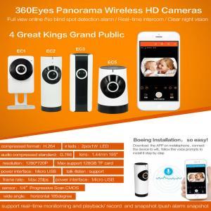 Quality EC5 720P Fisheye Panorama WIFI P2P IP Camera IR Night Vision CCTV DVR Wireless Remote Surveillance on iOS/Android App for sale