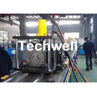 Quality Steel Sheet Upright Rack Roll Forming Machine for Storage Shelf Profile for sale