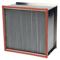 Quality High Temperature 500Pa HEPA Air Filter With Glass Fiber Paper for sale