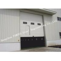 China Customized High Speed Industrial Lift Up Rolling Shutter Doors With Pedestrian Gate on sale