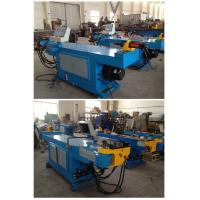 Quality PLC Logic Control System CNC Pipe Bending Machine with Rotate Axis Motor and Drivers for sale