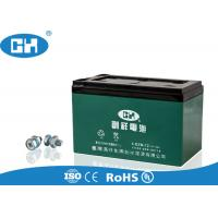 China Green Electric Scooter Battery , 12v 12ah Scooter Battery Large Current Capability on sale