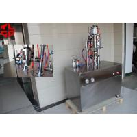 Buy cheap Pneumatic Semi Automatic Aerosol Filling Machine For F12 F22 Gas , High Speed from wholesalers