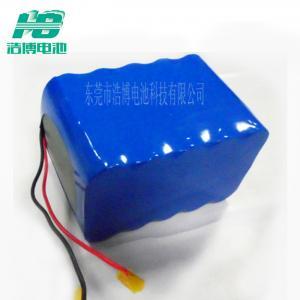 China 18650 6600mAh Battery Pack For Energy Storage , 11.1v Light Backup Battery on sale
