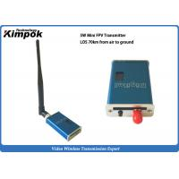 Buy 41g Lightweight Wireless FPV Long Range Video Transmitter 5W Mini Wireless Image at wholesale prices