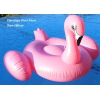 Buy Eco-friendly PVC inflatable flamingo pool float swimming water toys at wholesale prices