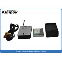 Buy 20km UAV Mini HD Wireless Transmitter , COFDM Video Transmitter and Receiver for Drones at wholesale prices