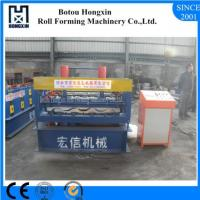 Quality Reliable Metal Sheet Rolling Machine , Cr12 Cutting System Metal Roof Panel Machine for sale