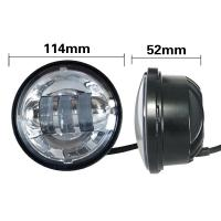 Quality 4.5 Inch Harley Davidson Without Angel Eyes Of 30w Vehicle Light Bars With Aluminum Material Housing for sale