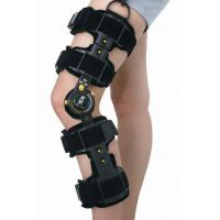 Quality Universal Size Left Or Right Medical Knee Brace Telescopic Post Op Black Color for sale
