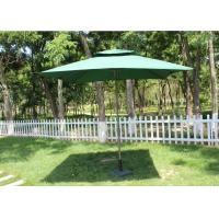 Quality Promotional Rectangular Market Umbrella 240g Polyester Fabric Without Fringe for sale