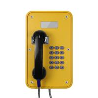 Quality Watertight Industrial Analog Phone Corrosion Resistant With LCD Display for sale