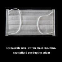 Quality Fully Automatic 3 Layer Inner Loop Medical Face Mask Machine (1+2) for sale