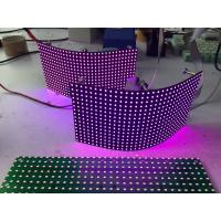 Quality P8mm Flexible Led Screen Smd Module / Video Creative Background Foldable Led Display for sale