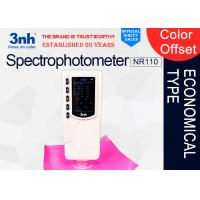 Quality 4mm Aperture Color Matching Spectrophotometer NR110, Printing paper products Color Tester for sale