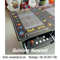 Buy European Like PAC MAN Cocktail Table Mini Coin Operated Video Arcade Cabinet at wholesale prices