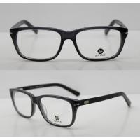 Buy cheap Lightweight Classic Acetate Glasses Frames For Men / Women To Protect Eyes from wholesalers