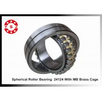 Quality 120 x 200 x 80 Large Bore Spherical Roller Bearing 24124 With MB Brass Cage for sale