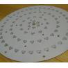 Big Size Round Led Circuit Board 2000W Street Light OEM MCPCB Aluminum Based for sale