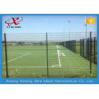 Quality Customized Size School Security Fencing / High Security Wire Fence RAL Colors for sale