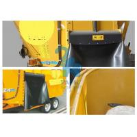 Quality Oversized Animal Feed Mixer Wagons For Cattle Farms 9600kgs Loading Capacity for sale