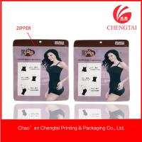 Quality Laminated material clothing packaging bags for women's underwear for sale