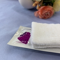 Quality 23x23cm Airline Wet Towel for sale